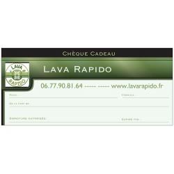 CHÈQUE CADEAUX LAVA RAPIDO & CARBON CLEANING