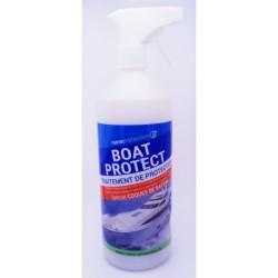 Protection ultra résistante pour coques de bateau